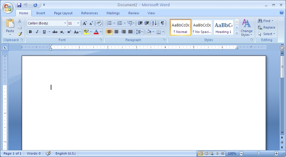ms word office 2007